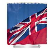 Red Ensign Shower Curtain