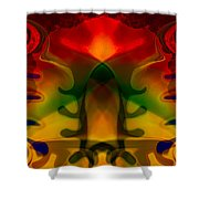 Red-eyes Black Dragon Shower Curtain