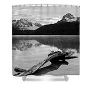 Red Fish Lake Idaho Shower Curtain