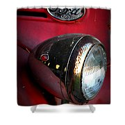 Red Ford Shower Curtain