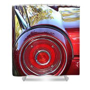 Red Ford Tailight Shower Curtain