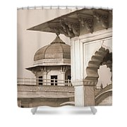 Red Fort Shower Curtain