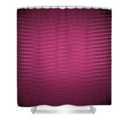 Red Fractal Background Shower Curtain