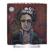 Red Frida 2013 Shower Curtain