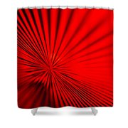 Red Glass Abstract 7 Shower Curtain