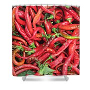 Red Hot Chilli Peppers Shower Curtain