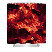 Red Hot Love Shower Curtain