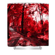 Red II Shower Curtain