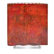 Red Jasper Stone Shower Curtain