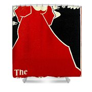 Red Lady The Chap Book1895 Shower Curtain
