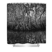Red Mangroves Number 1 Shower Curtain