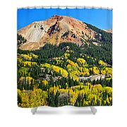 Red Mountain Shower Curtain