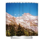 Red Mountain Pass Shower Curtain