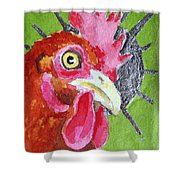 Red Nugget Shower Curtain