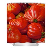 Red Pear Franchi Shower Curtain