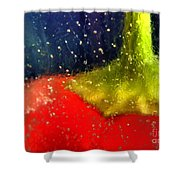 Red Pepper Shower Curtain