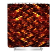 Red Pine Shower Curtain