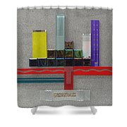 Red River City Shower Curtain