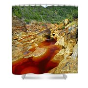 Red River Huelva Shower Curtain