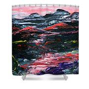 Red River Valley Shower Curtain