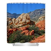 Red Rock Canyon 5 Shower Curtain