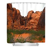 Red Rock Canyon. Shower Curtain