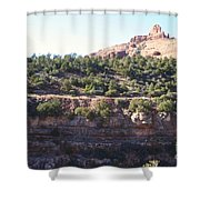 Red Rock Canyon In Arizona Shower Curtain