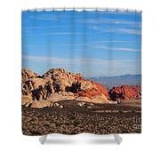Red Rock Canyon Las Vegas Shower Curtain