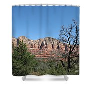Red Rock Country - Sedonna Shower Curtain