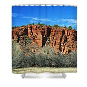 Red Rock State Park Shower Curtain