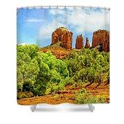 Red Rock State Park Sedona Arizona Shower Curtain