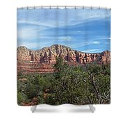 Red Rock Views Shower Curtain