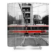 Red Rocket 37c Shower Curtain
