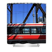 Red Rocket 8 Shower Curtain