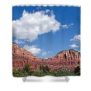 Red Rocks In Sedona Arizona Shower Curtain