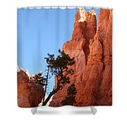 Red Rocks Of Bryce Canyon  Shower Curtain