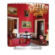 Red Room White House Shower Curtain