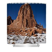 Red Sandstone Arches National Park Utah Shower Curtain