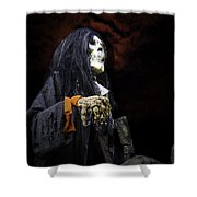 Red Skys At Night Pirates Delight Shower Curtain