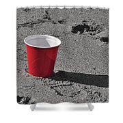 Red Solo Cup Shower Curtain