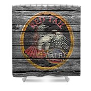 Red Tail Shower Curtain