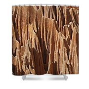 red Tsingy Madagascar 5 Shower Curtain