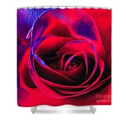 Red Velvet Shower Curtain