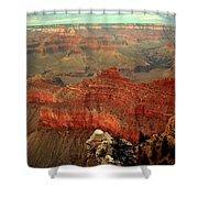 Red Vista Shower Curtain