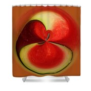 Red Watermelon Shower Curtain