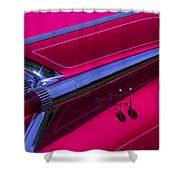 Red1959 Cadillac Shower Curtain
