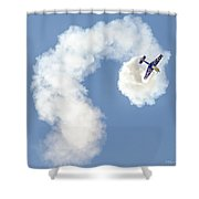 Redbull Tumbles Shower Curtain