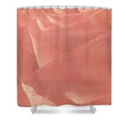 Reddish Rose Shower Curtain