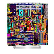 Redemption Prayer 12b Shower Curtain