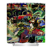 Redemption Prayer 14 T Shower Curtain